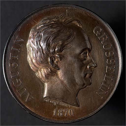 Médaille commémorative d'Augustin Grosselin