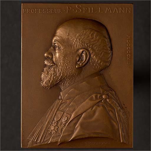 Plaque commémorative de Paul Spillmann
