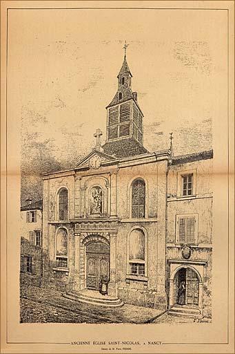 Église conventuelle de capucins Saint-Michel, puis de soeurs de la Doctrine chrétienne et ancienne église paroissiale Saint-Nicolas