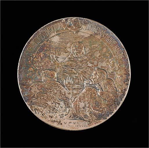 Médaille commémorative du congrès eucharistique international de Malte