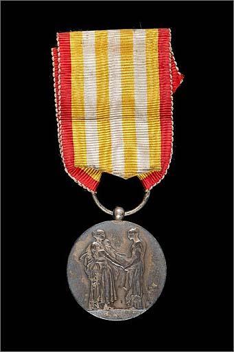 Médaille du ministère de l'Intérieur (assistance publique)