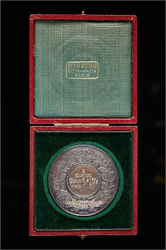 Médaille locale de l'Enseignement primaire dans son écrin