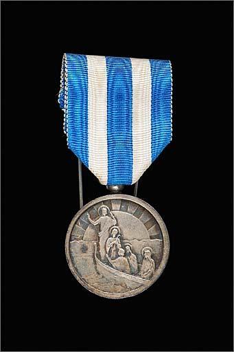 Ensemble de 2 médailles diocésaines d'honneur : diocèse de Marseille