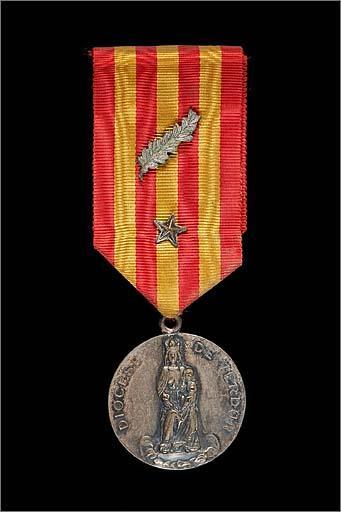 Médaille diocésaine du mérite : diocèse de Verdun