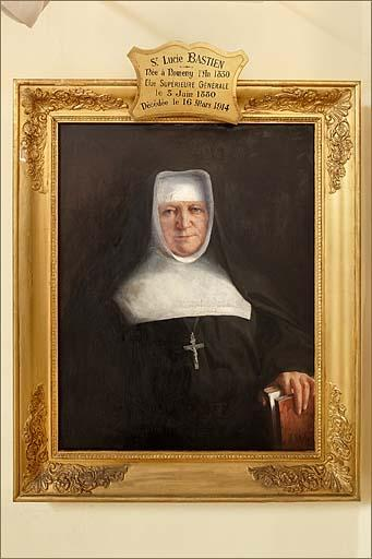 Tableau : portrait de soeur Lucie Bastien