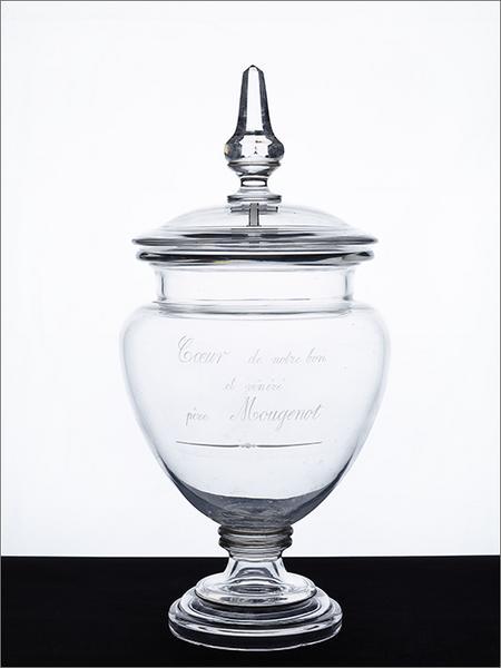 Urne de viscères : urne du coeur du père Mougenot