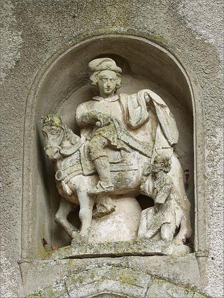Gorupe sculpté : Saint Martin