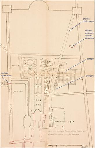 Ancienne orangerie du château Stanislas