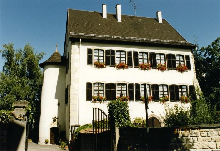 Hôtel, actuel presbytère