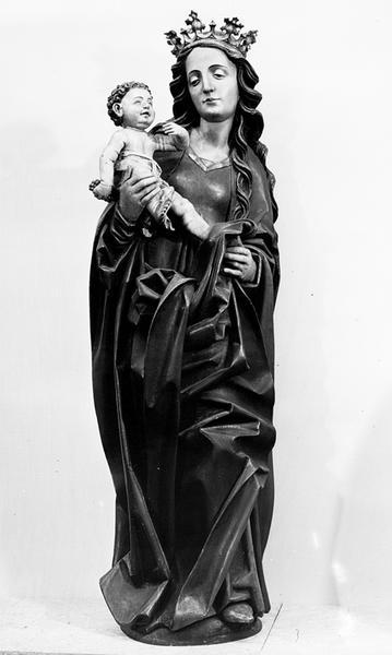 Statue de la Vierge à l'Enfant, Vierge des vignerons,