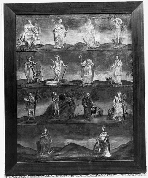 Tableau : saints intercesseurs