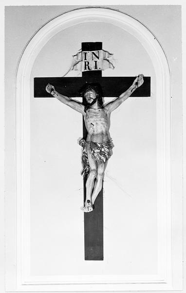 croix (d'applique) : Christ en croix