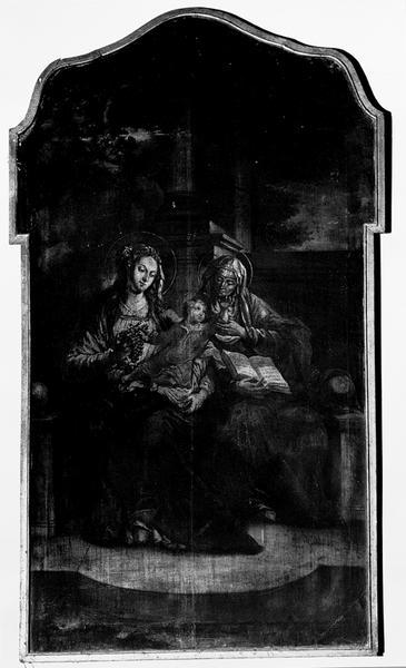 tableau (tableau d'autel) : sainte Anne trinitaire
