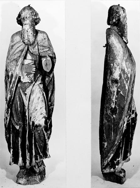 Statue d'applique : saint Pierre