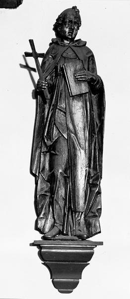 Statue d'applique : saint Dominique de Guzman