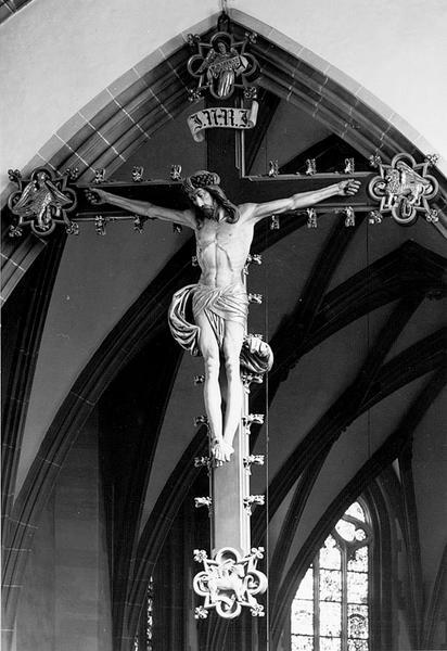 Croix d'applique : Christ en croix