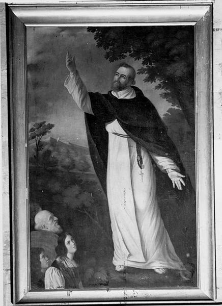 tableau : saint Dominique de Guzman