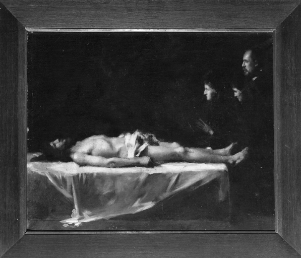 Tableau : Christ mort