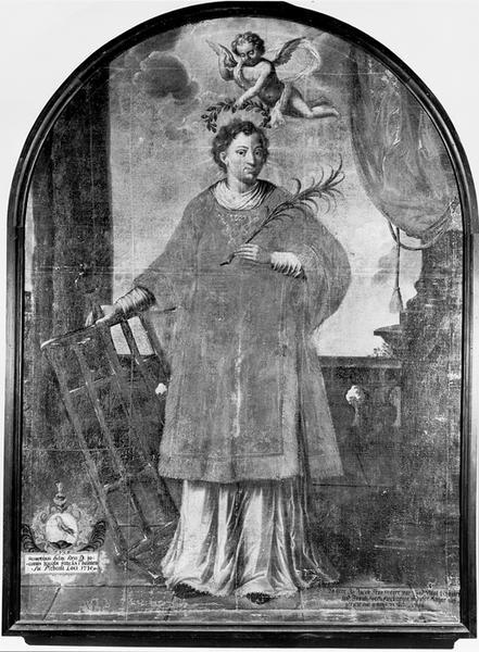 Tableau : saint Laurent diacre