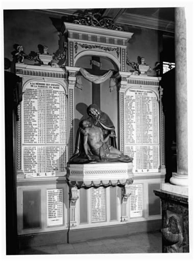 Monument aux morts, de la guerre de 1914-1918