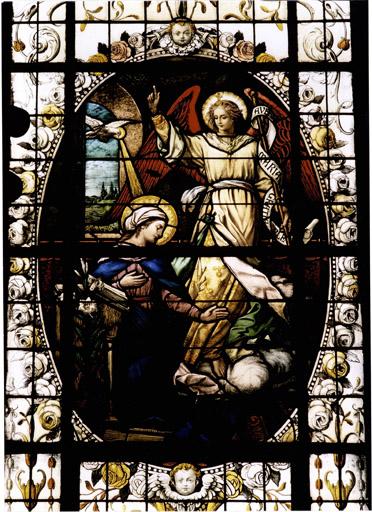 Verrière 5 : vie du Christ, Vie de la Vierge (baies 3 à 18)