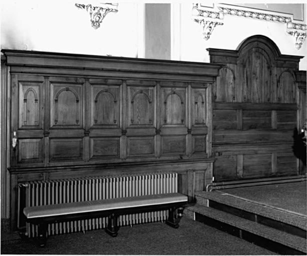 Le mobilier du couvent, église paroissiale Sainte-Marie