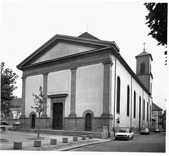 Couvent de franciscains Sainte-Marie, puis église paroissiale Sainte-Marie