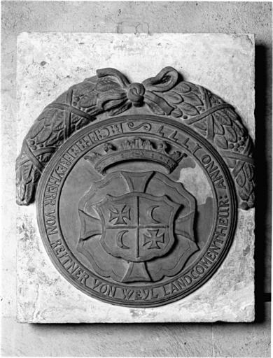 plaque commémorative No 1
