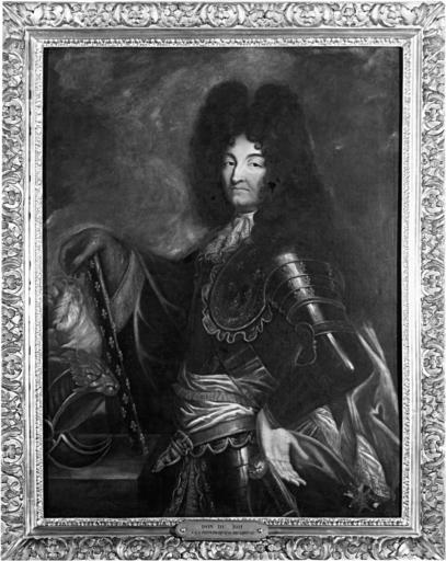 Tableau : portrait du roi Louis XIV