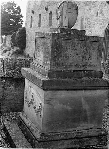 Tombeau de François Joseph Saglio et de Susanne Saglio, née van Récum