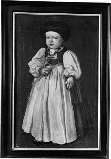 Tableau : portrait de petite fille (2)