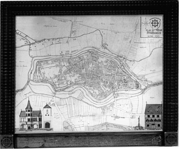 plan : Mulhouse
