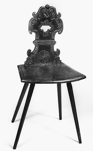 Chaise dite chaise alsacienne