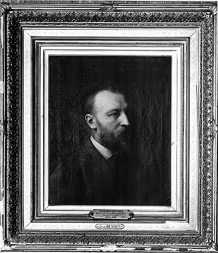 Tableau : portrait de A. Scheurer Kestner