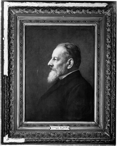 Tableau : portrait d'Ernest Zuber