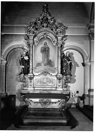 Autel de l'Immaculée Conception, autel de la sainte Famille