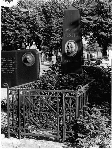 Tombeau de Auguste Lustig No 4