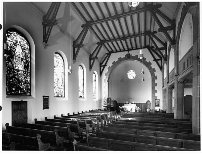 Temple luthérien Saint-Martin, église évangélique