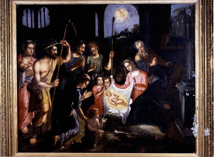 Tableaux : Nativité et Adoration des bergers