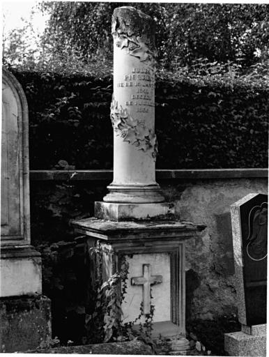 Tombeau de Jules Pierrecy