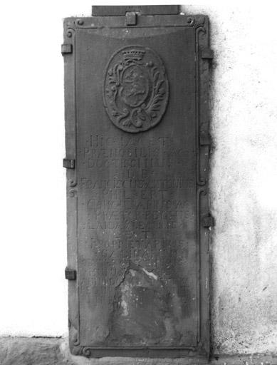 Dalle funéraire (7), de François Antoine Philbert