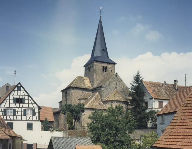 Collégiale Saint-Martin, Saint-Arbogast