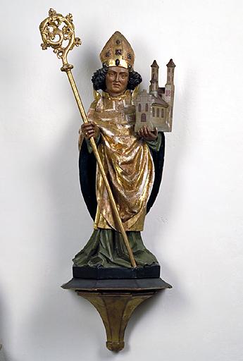 Statue : saint Wolfgang