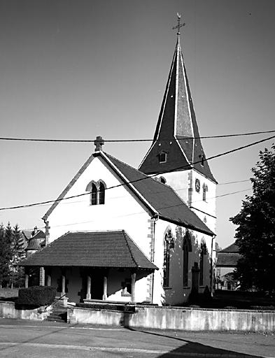 Église paroissiale Saint-Laurent, puis église de protestants