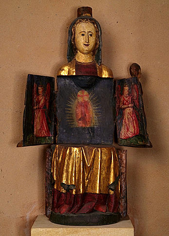 Statue : Vierge à l'Enfant dite Vierge ouvrante