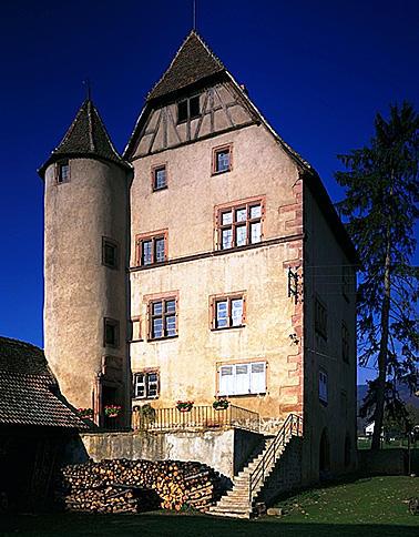 Château dit Petit Château ou Burgelin
