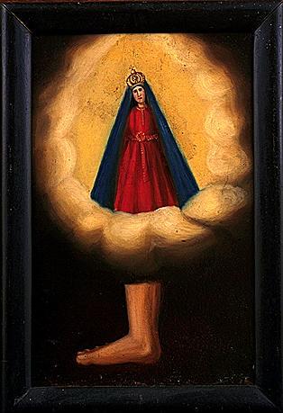 Ex-voto, tableau : Vierge