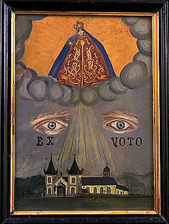Ex-voto, tableau : Vierge de Pitié (4)