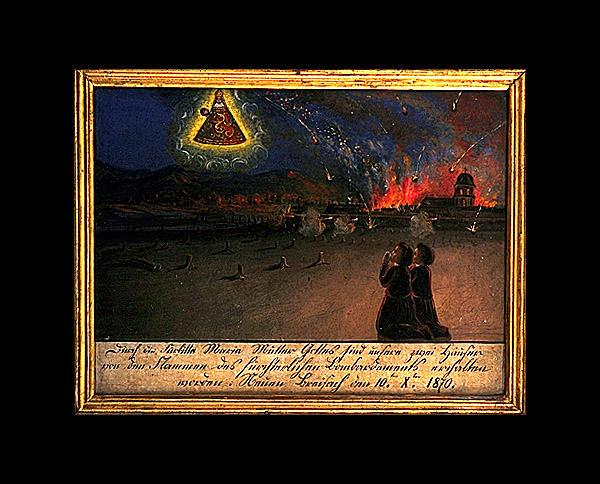Ex-voto, tableau : Vierge de Pitié (6)