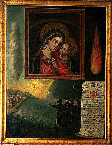 2 tableaux : Notre-Dame de la victoire, Notre-Dame du bon secours